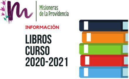 LISTADOS DE LIBROS CURSO 2020/2021